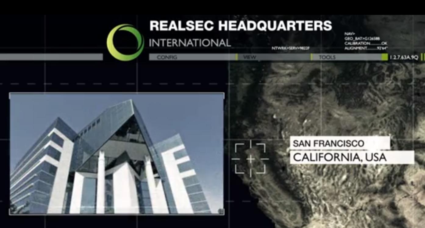 Realsec Headquarters California, poster.