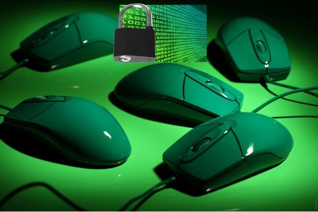 raton ordenador seguridad codigos