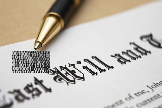 firma digital cifrado asegurar testamento digital