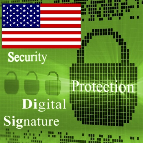 digital signature operate United States