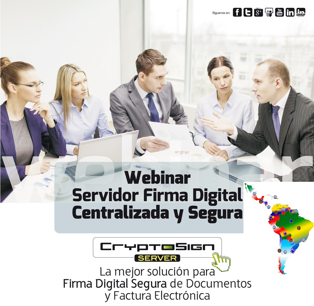webinar latam servidor firma digital realsec