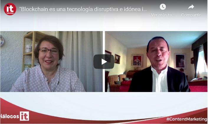 blockchain tecnologia disruptiva idonea uso proceso transformacion digital