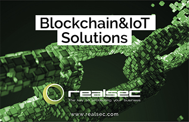 realsec expands its product portfolio two secure platforms blockchai the internet of things iot