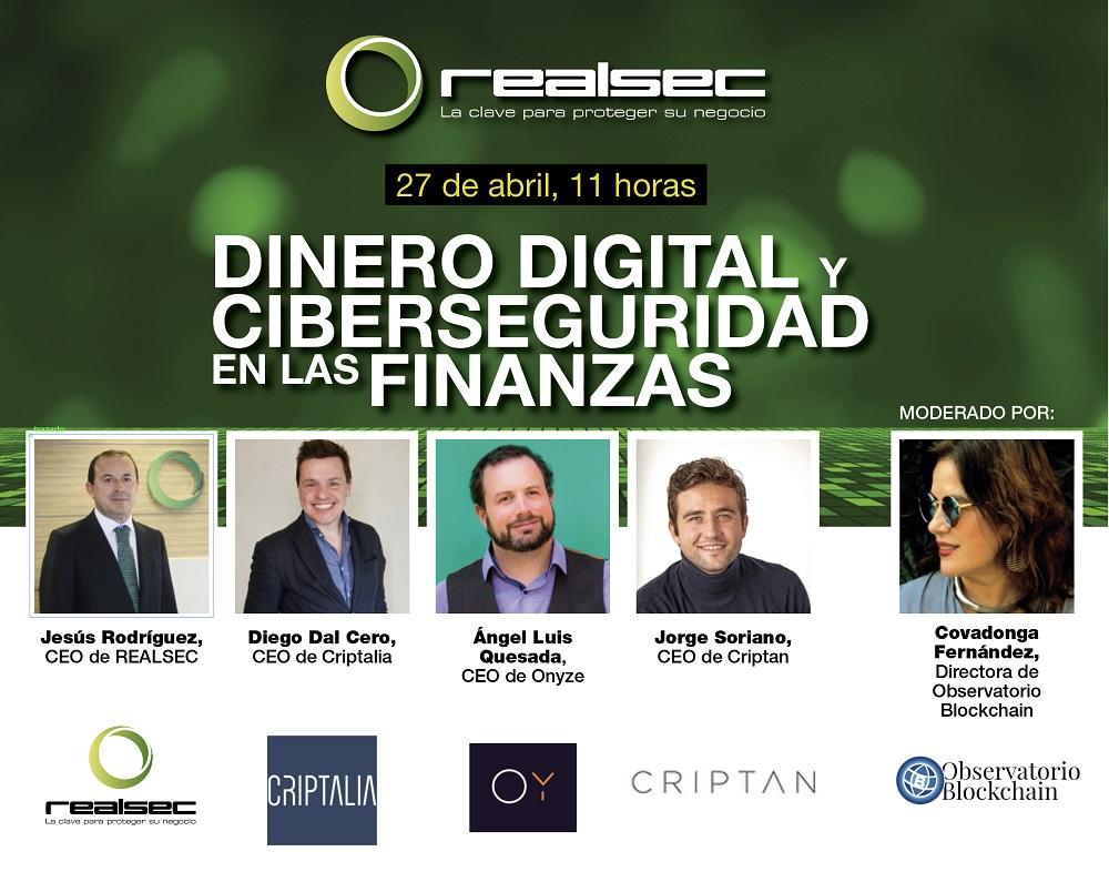 webinar dinero digital ciberseguridad finanzas